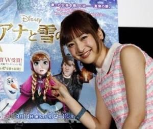 神田沙也加 アナと雪の女王